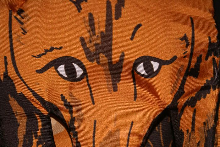 Designer Fox Scarf as seen on Kingdom of Style