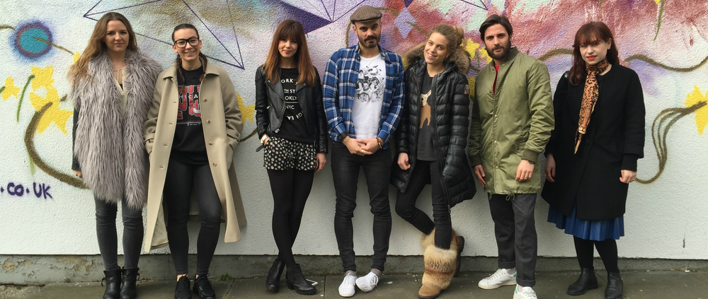 Hoxton Fashion w Supermalt: Lost Ink, Cleo Ferin Mercury + Taylor Taylor