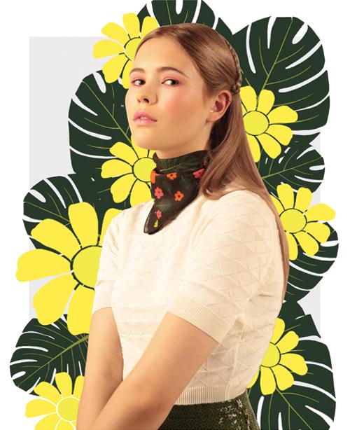 Flowers- designer flower print pocket squares - Cleo Ferin Mercury.jpg
