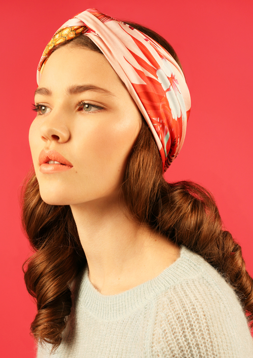 Cléo Ferin Mercury - Designer Silk Scarf - Flamingo Silk Scarf.jpg