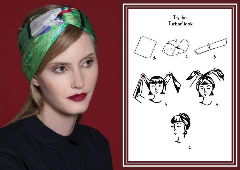 Turban look Resort14 - how to style a silk scarf - Square Silk Scarf.jpg