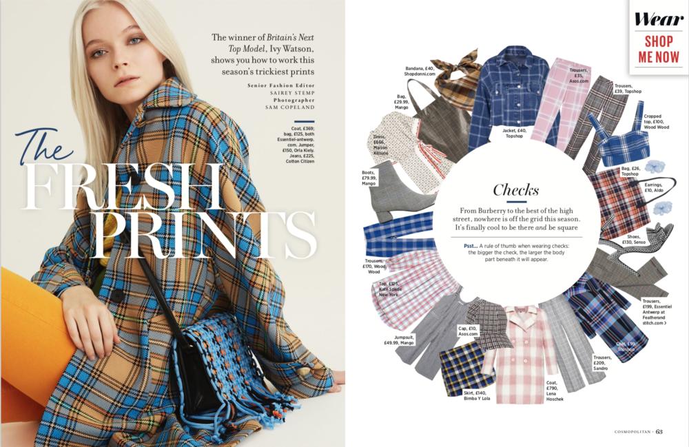 Cleo Ferin Mercury Cosmopolitan Magazine Ivy Watson Checks.png