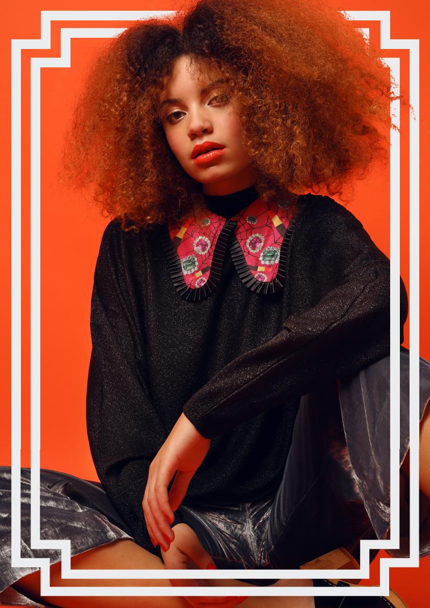 Cleo Ferin Mercury AW18 Designer Spiderweb Silk Collar.jpg
