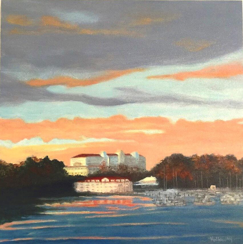Little Harbor at Sunset