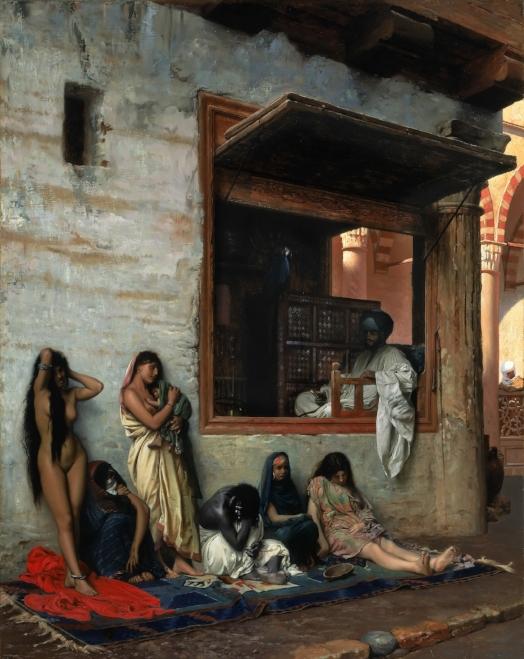 Jean-Léon Gérôme (1824-1904) The Salve Market, 1866