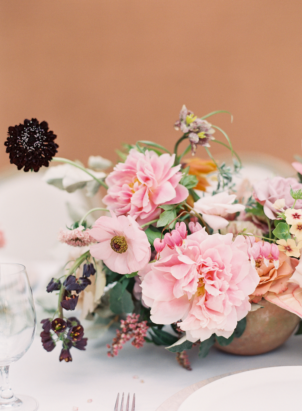 Peony Wedding Centerpiece - Wedding Flowers in Dallas