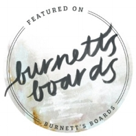 Featured on Burnett's Boards