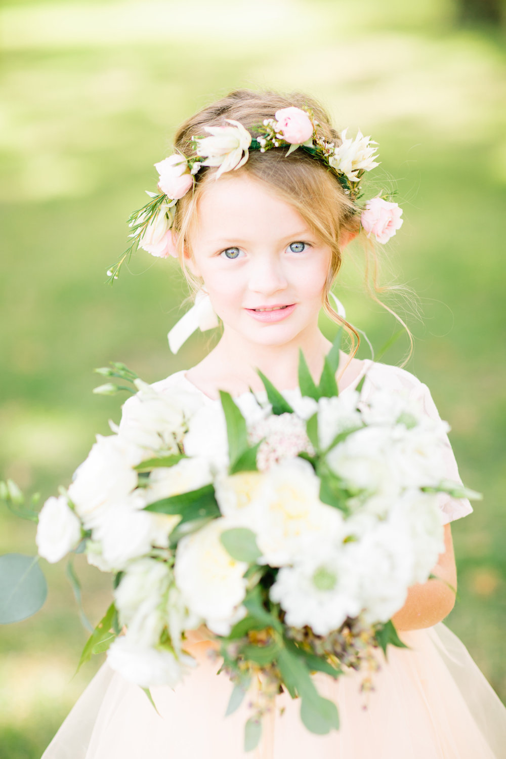 Flower Girl Crown - WEdding Florist in Dallas