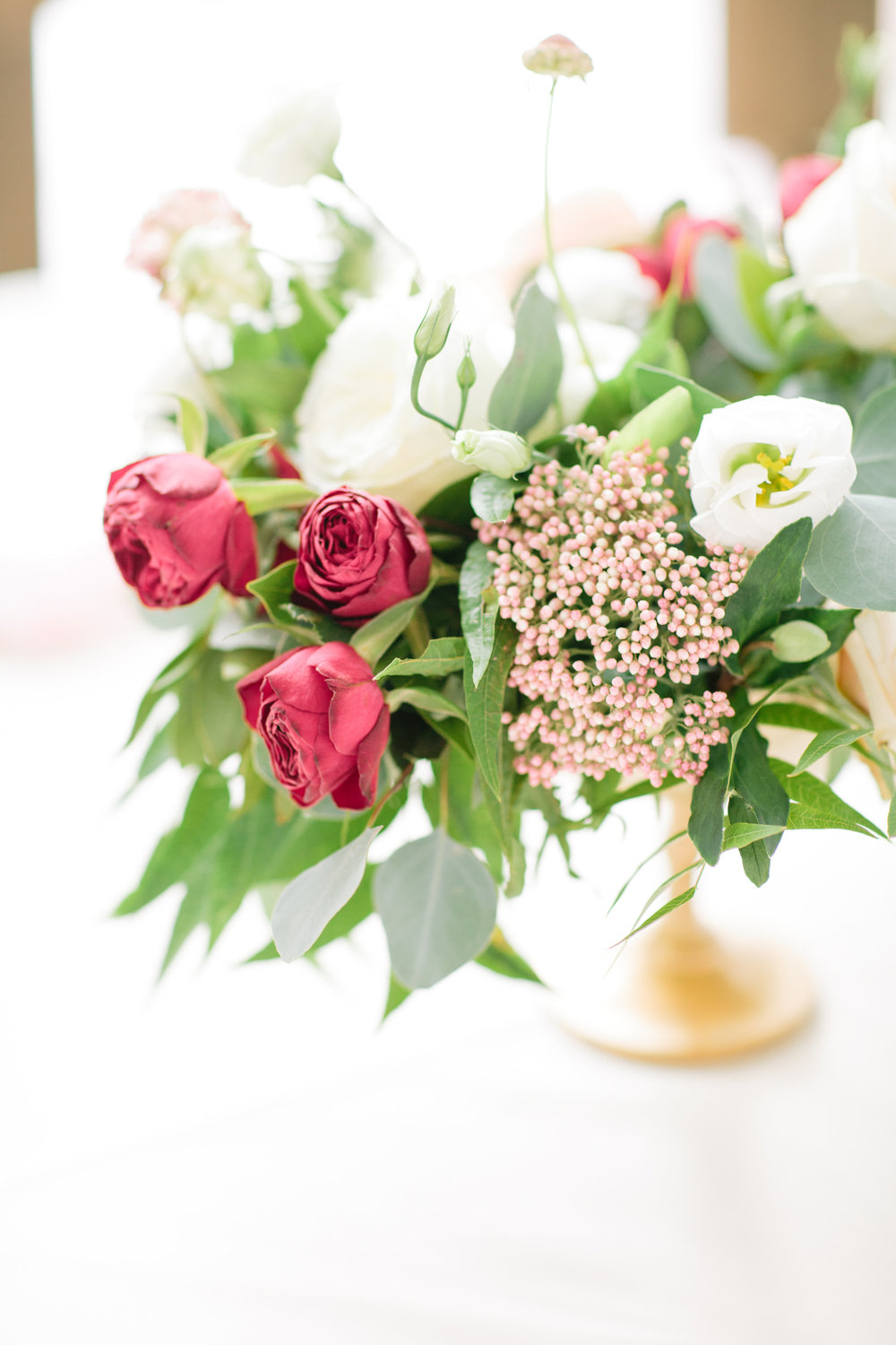 Burgundy Wedding Flowers - Wedding Florist in Dallas