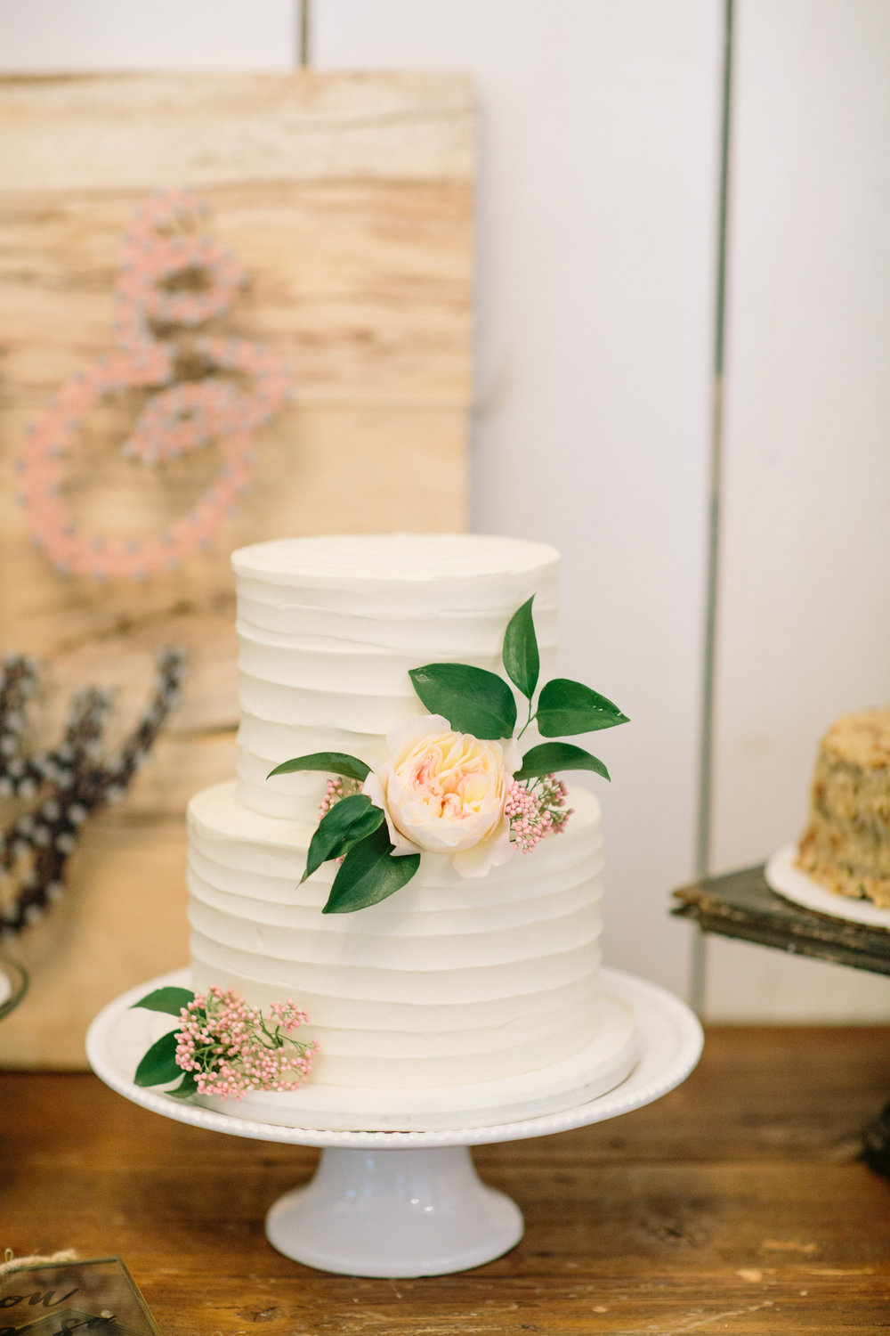 Buttercream wedding cake - Weddings in Dallas