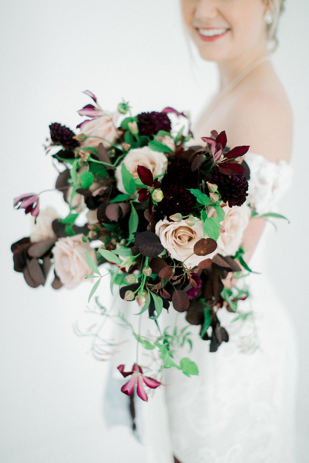 Dallas Wedding Florist - Bridal Portrait Bouquet