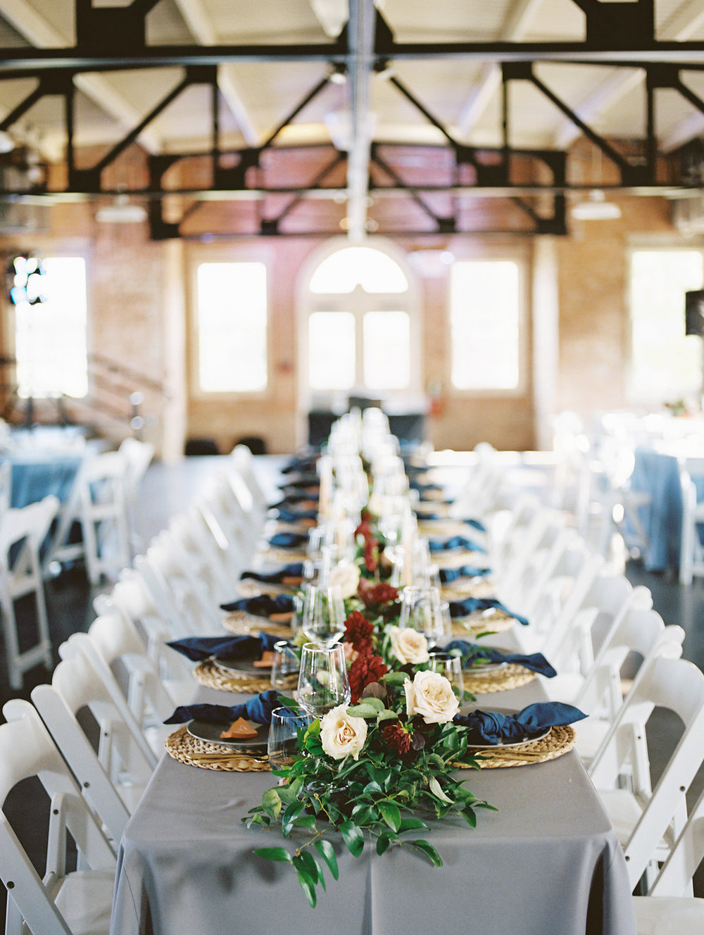 Wedding Flowers Dallas - Garland Wedding Centrepiece