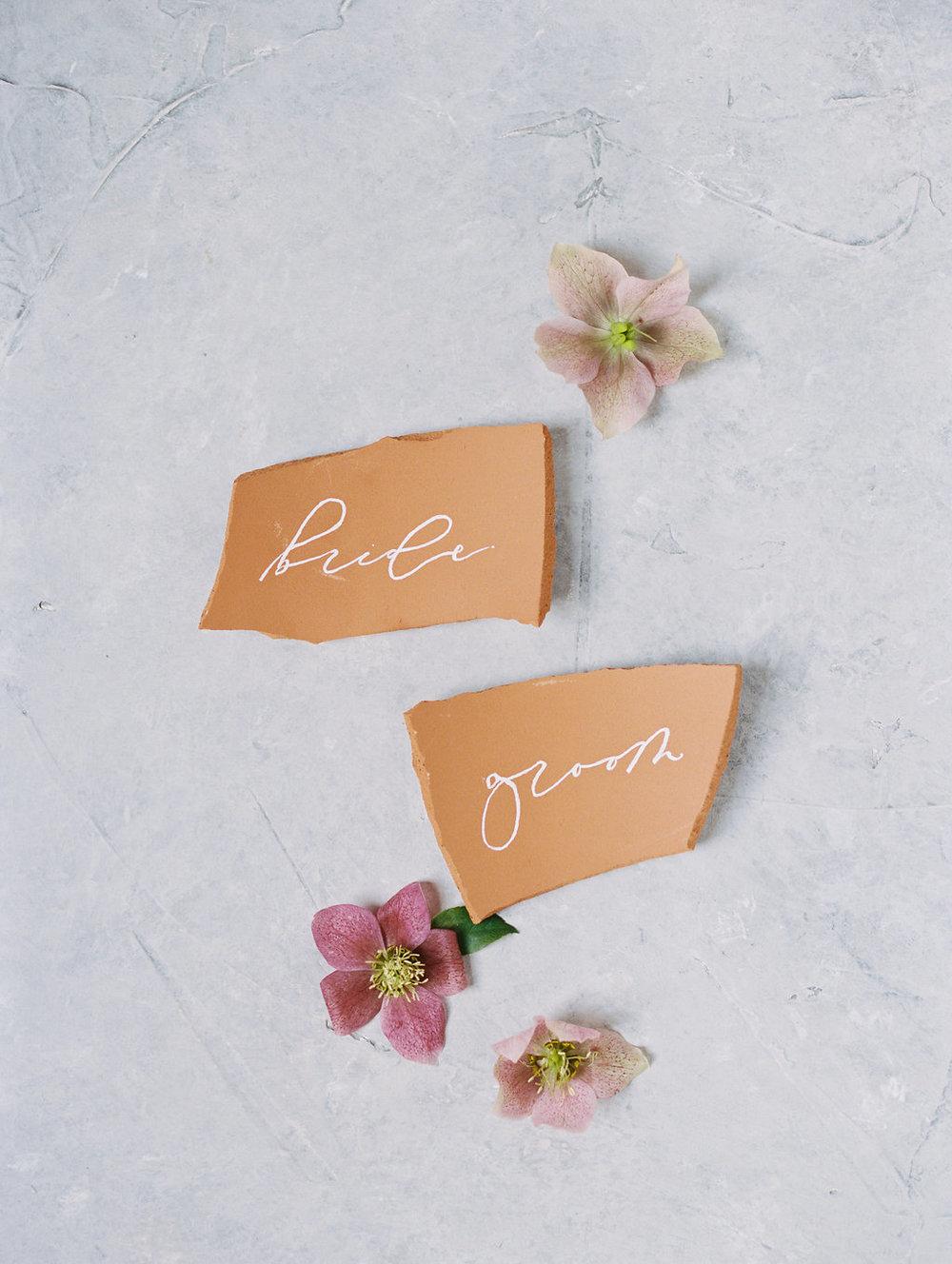 Terracotta Wedding Decor - Modern Wedding Ideas