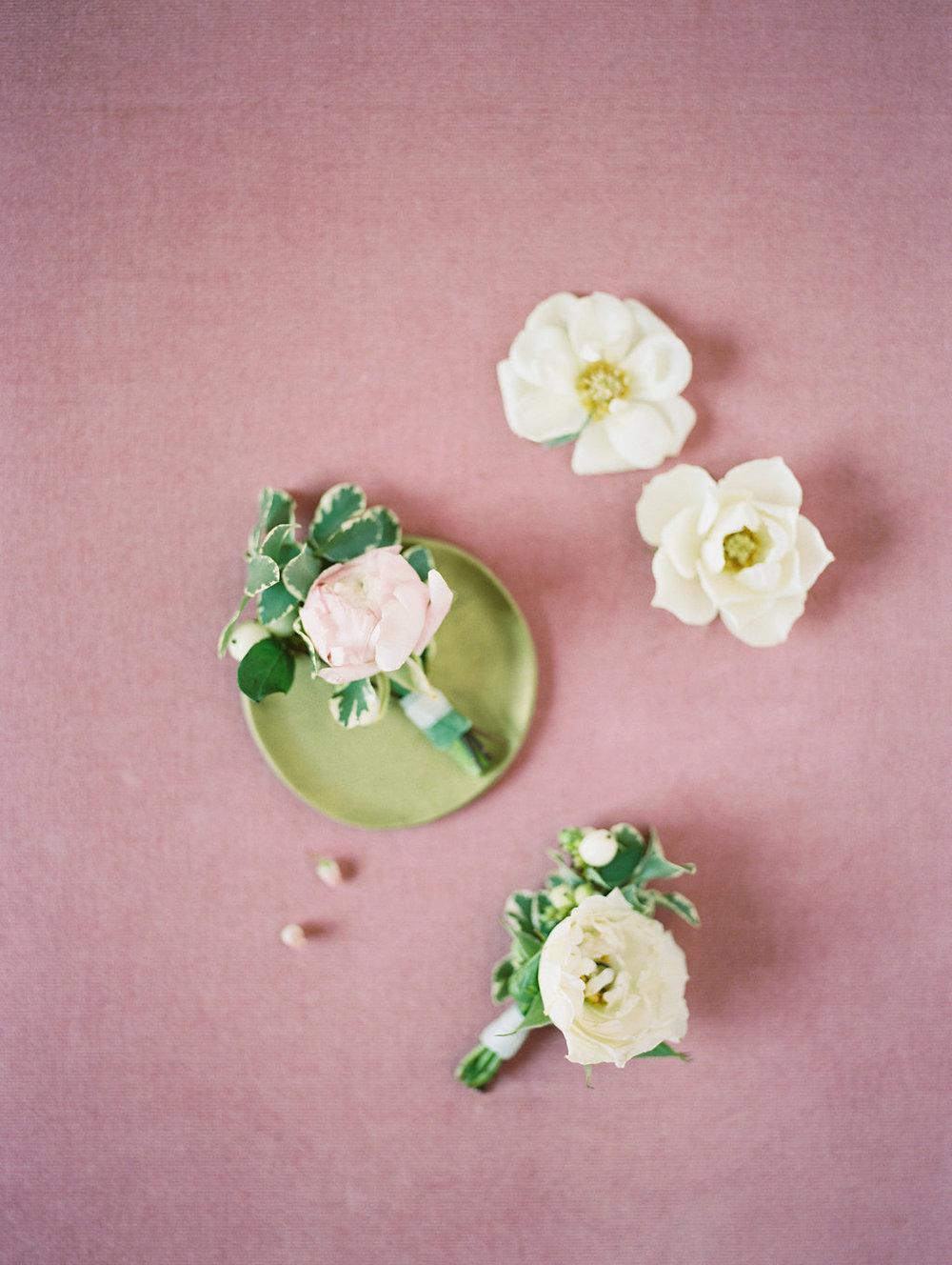 Pink and Cream Wedding Flowers - Dallas Wedding Florists