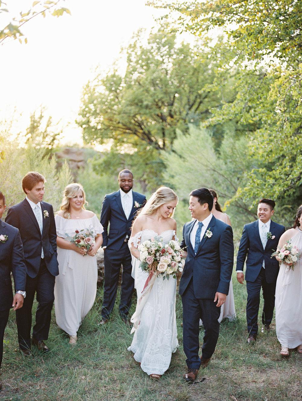 Hidden Pines Chapel Wedding - Wedding Florists Dallas