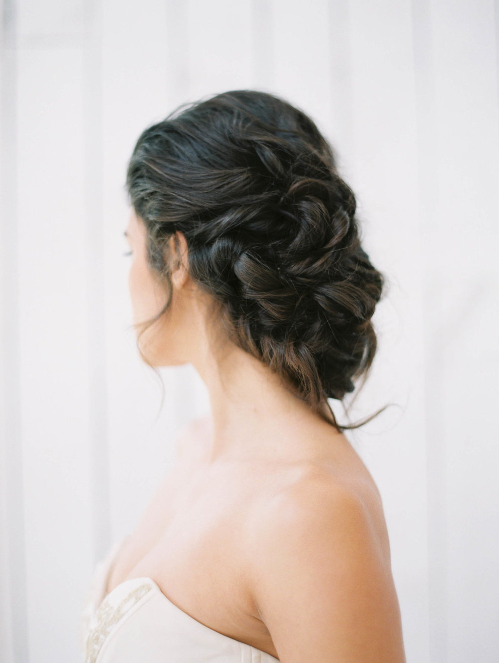 Romantic Bridal Updo - Top Wedding Vendors in Dallas