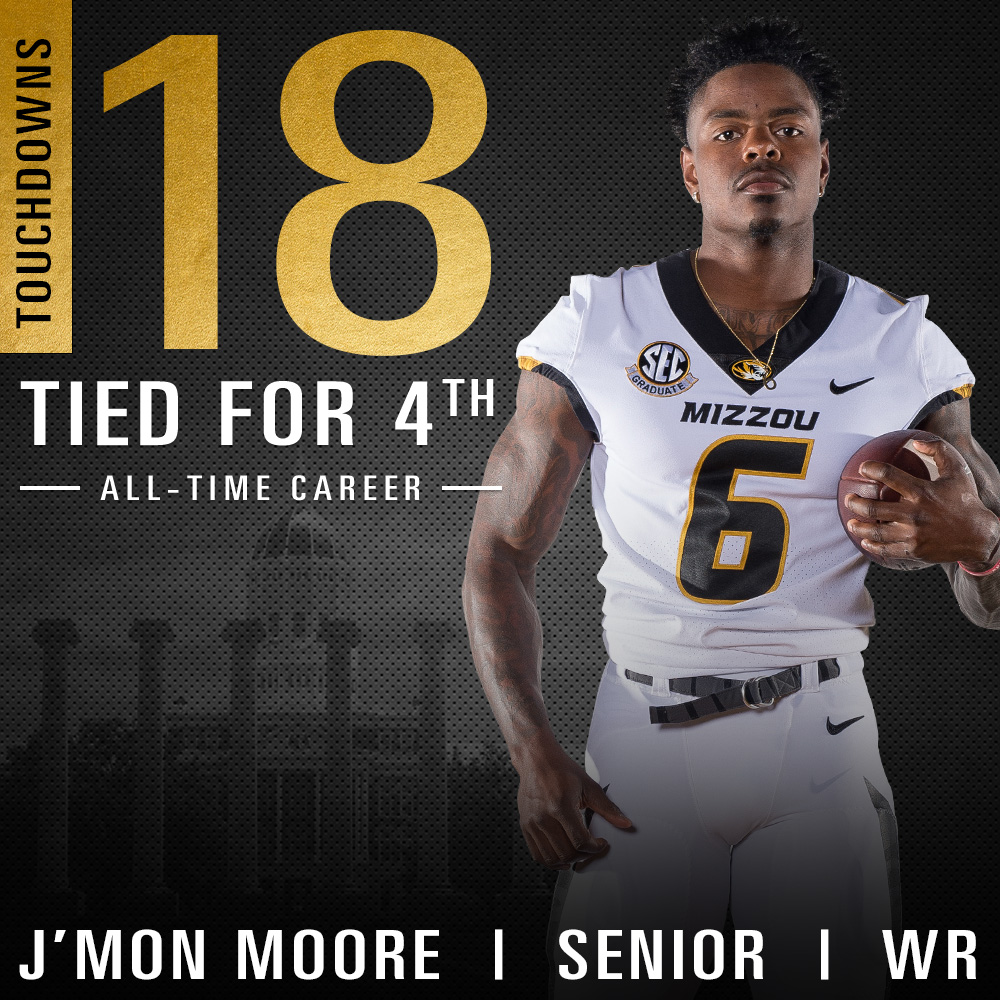 Moore: 4th in All-Time Touchdowns