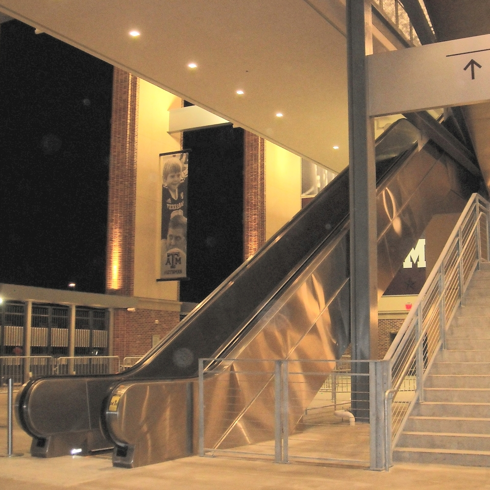 Stainless Steel Cladding for Escalators