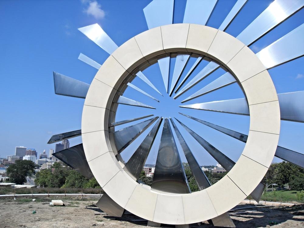 Stainless Steel Custom Sculpture Shards