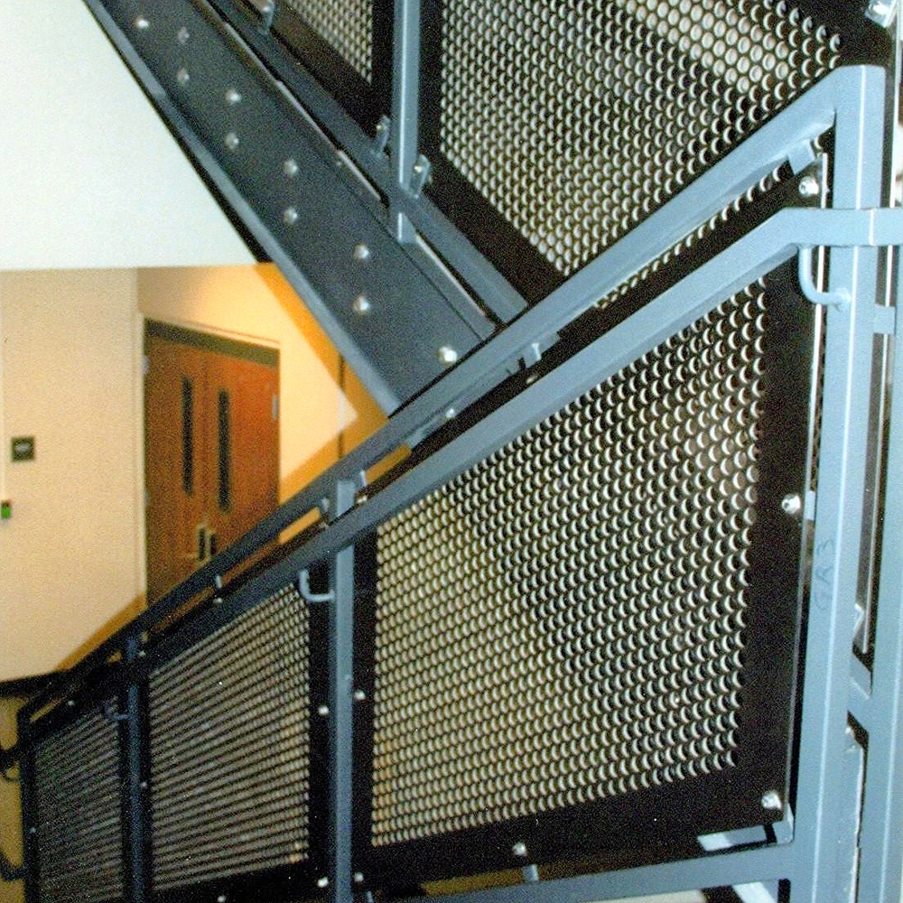 Perforated Panel Rail - Carbon Steel Supports