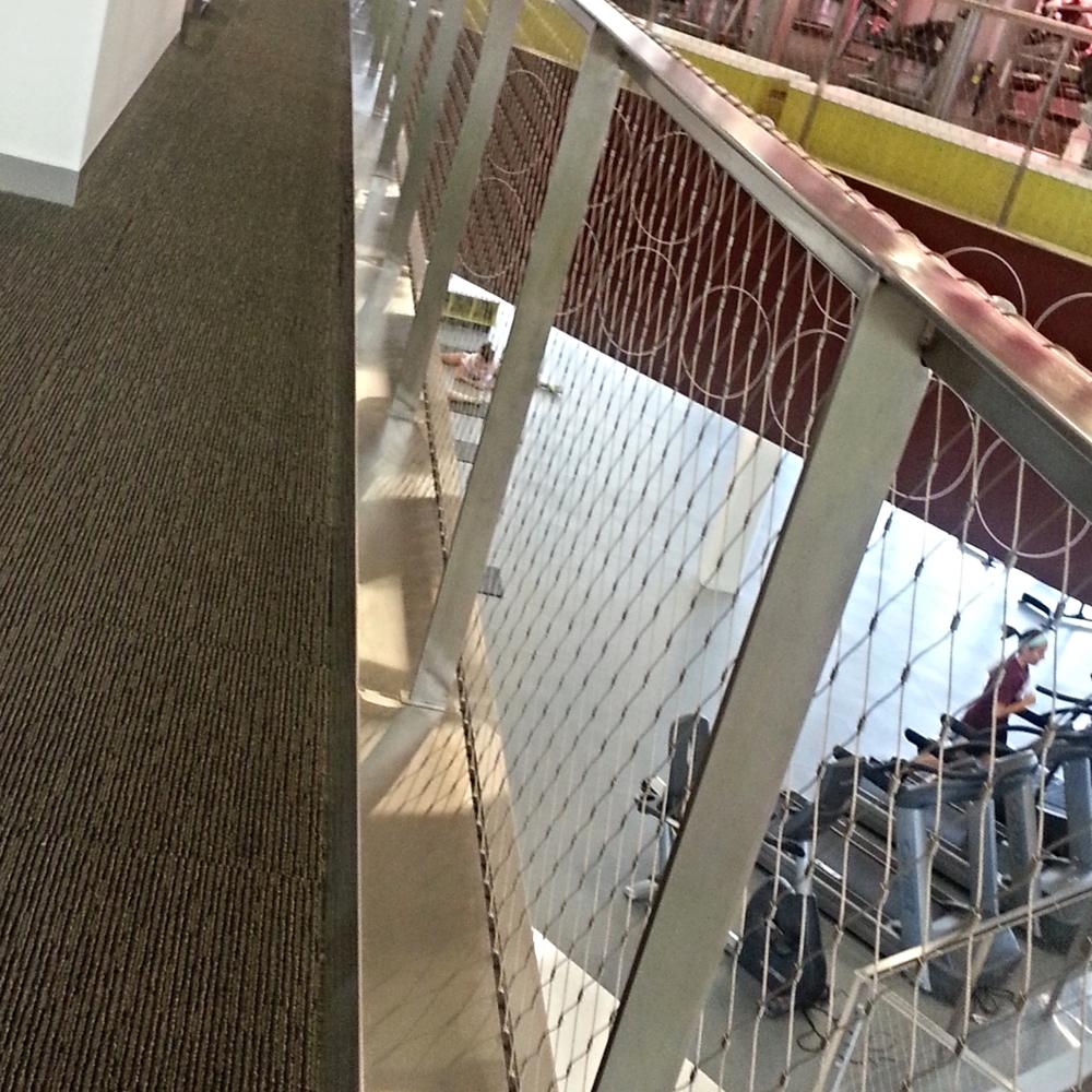 Wire Frame Guardrail