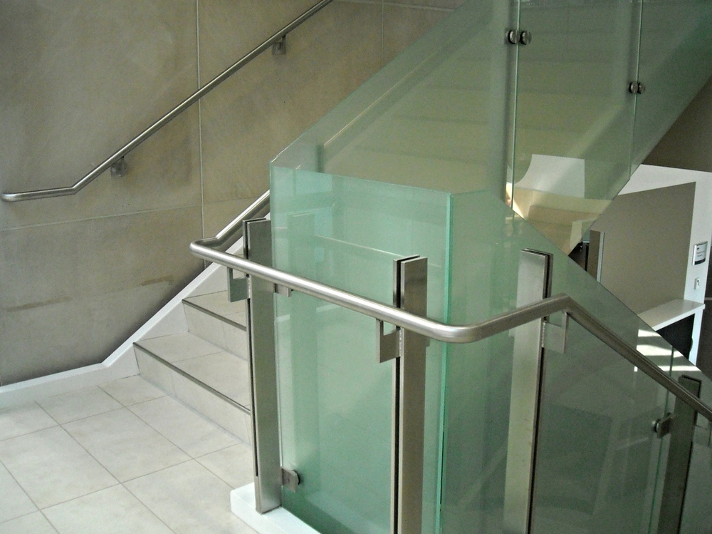 Glass Guardrail