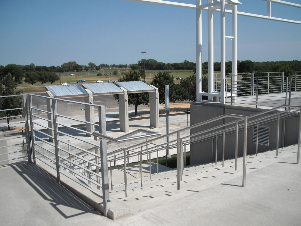 Stainless Guardrail and Handrail