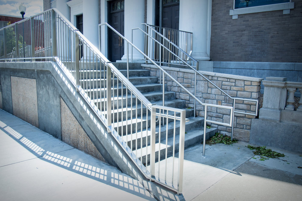 Stainless Handrail Stair