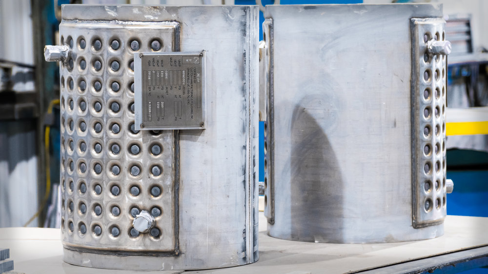 ASME Certified welding, we fabricate tank & pressure vessel components.