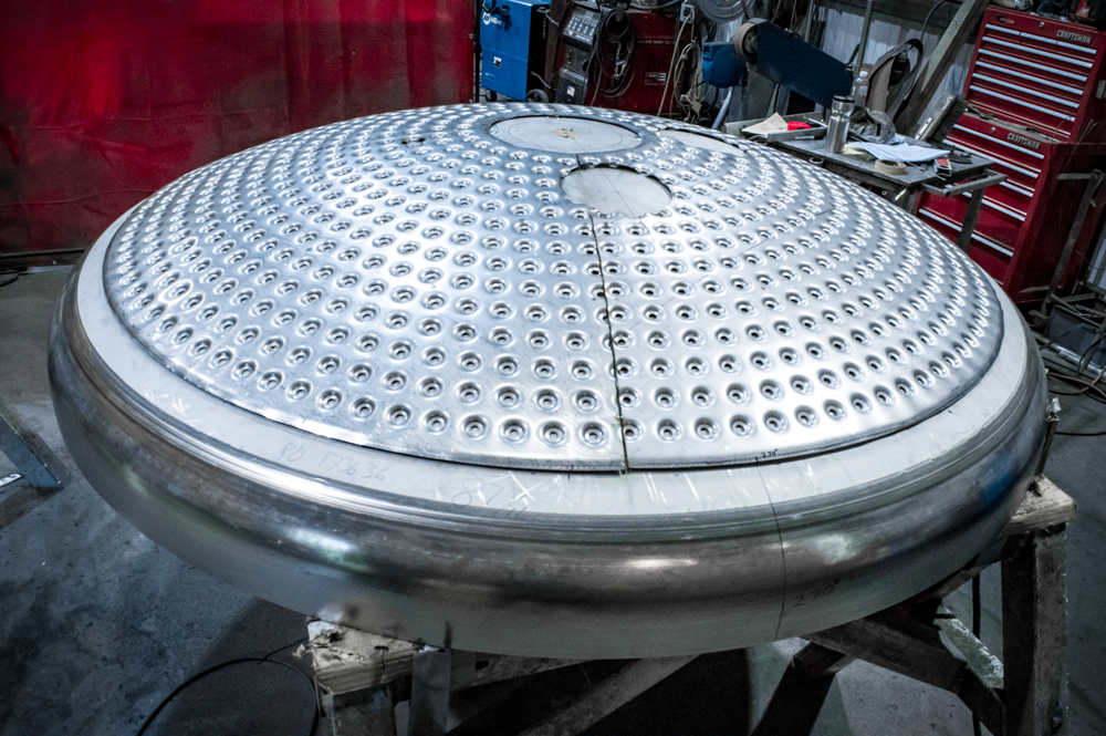 stainless dished head fabrication