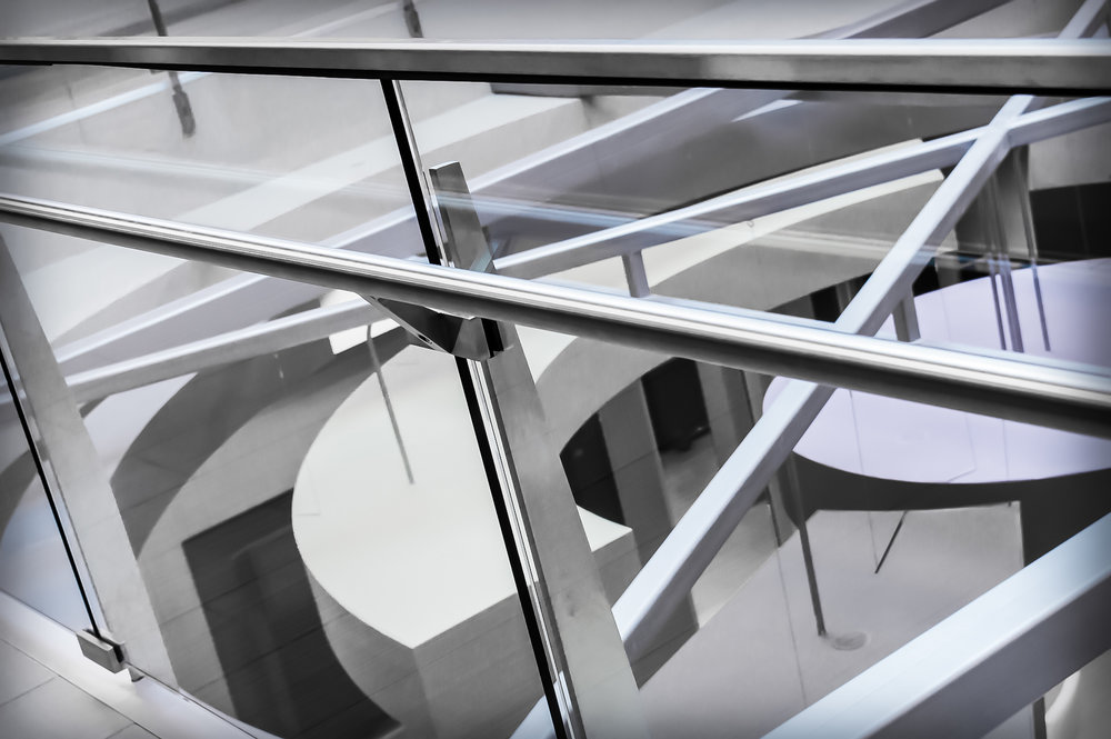 Custom Stainless Steel Tempered Glass Guardrail Fabrication