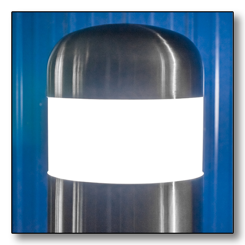 Illuminate  and  protect your site with custom LED bollards!