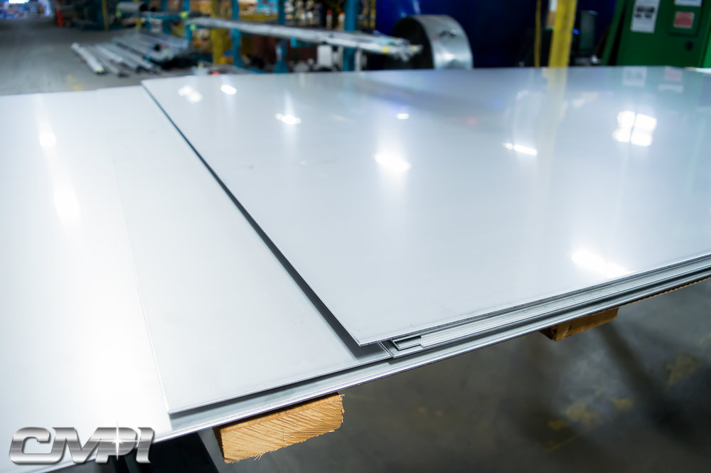 CMPI Stainless Steel Sheet & Plate Polishing