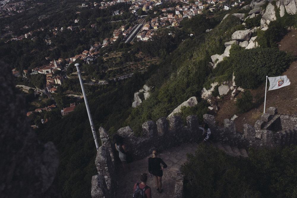 Sintra, Portugal - July 2017