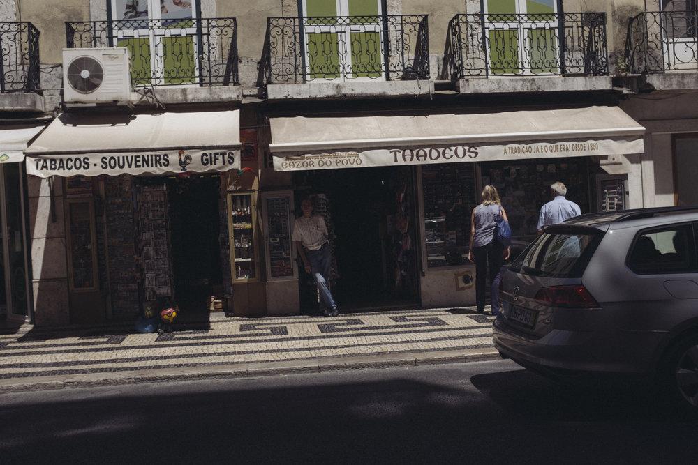 Lisbon, Portugal - July 2017