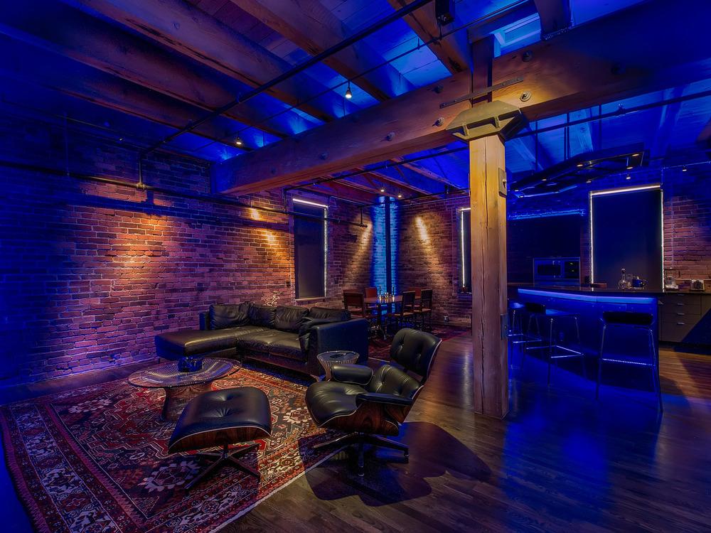 Ice House Loft, 196 Lighting Design, Gregg Mackell