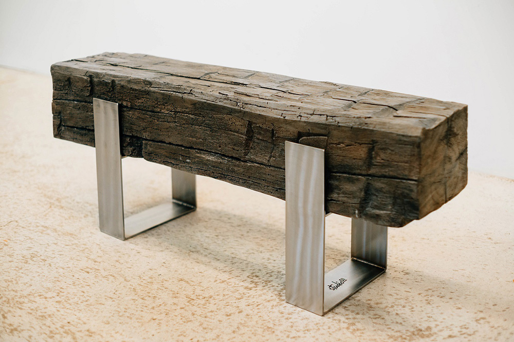 Studio50: Concrete Beam Bench