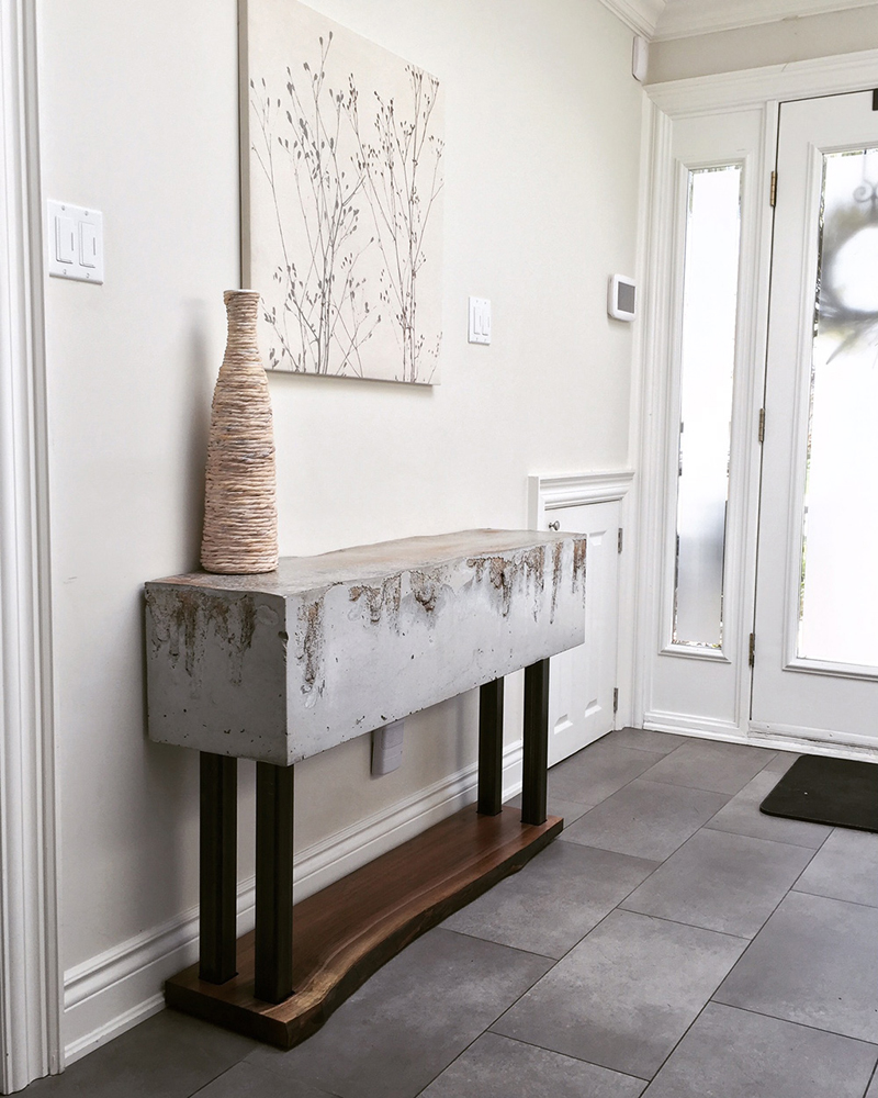 Studio50: Platform Collection Console Table