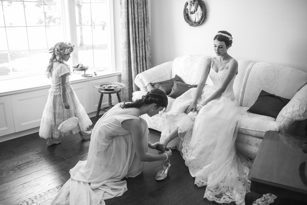 All of our wedding photography packages come with a layflat photo book and having the full spectrum of moments from the day are a way to share the story of your wedding day.