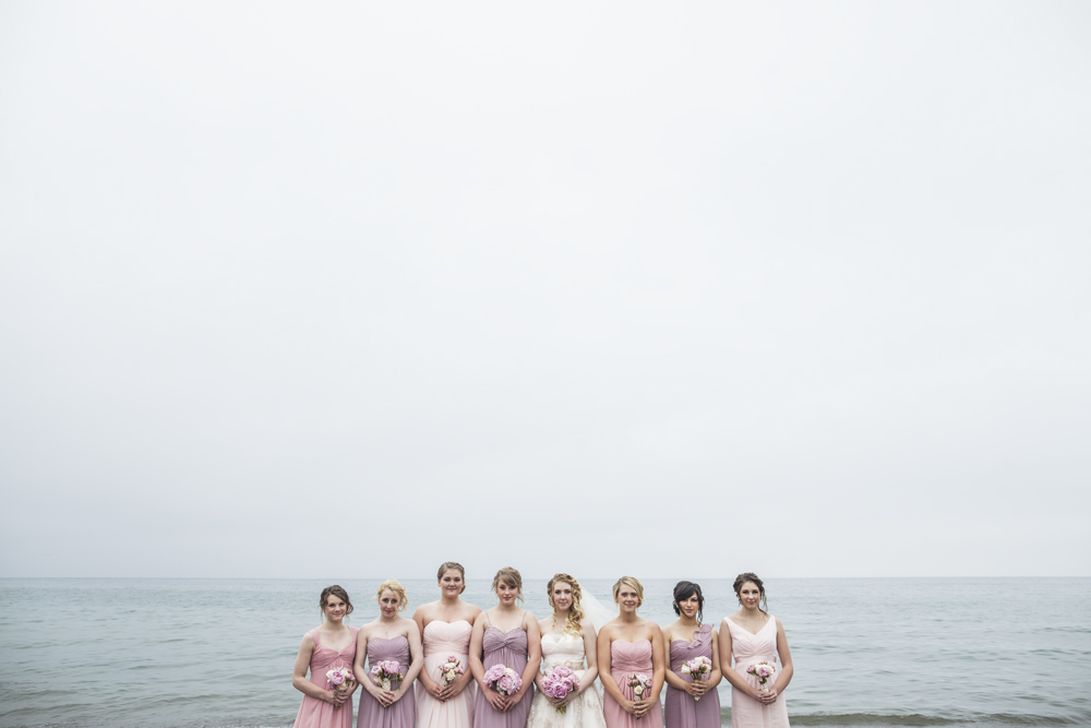Another sweet capture from Jessa and Dan's wedding at Lakeview. Bridal party photos are a fun place to get creative and think outside the box.