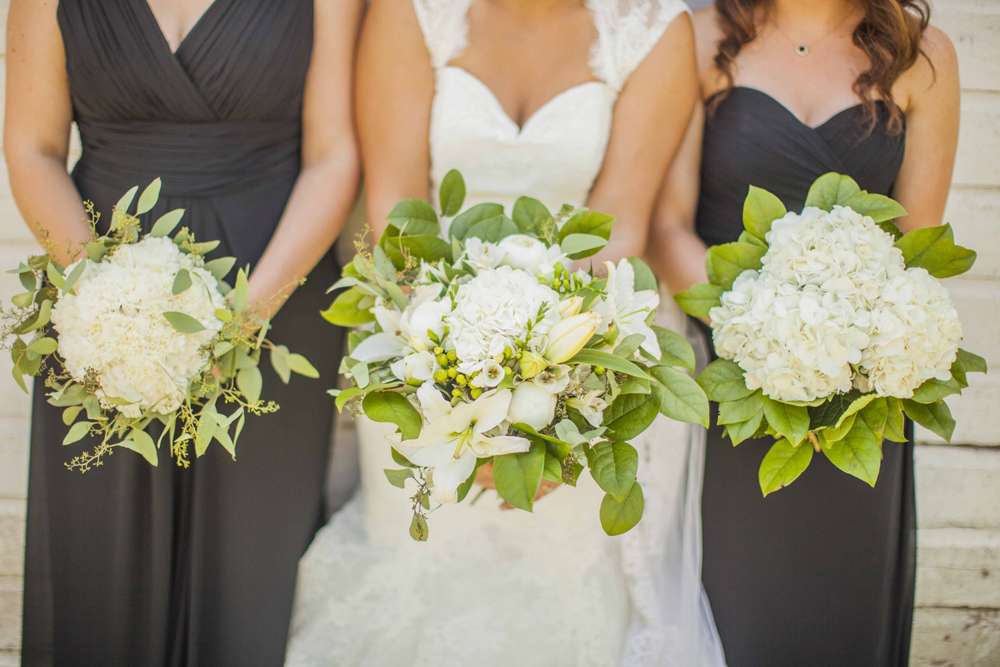 "We love working with other talented wedding vendors; but these ""homemade"" bouquets are some of the best we've seen!"