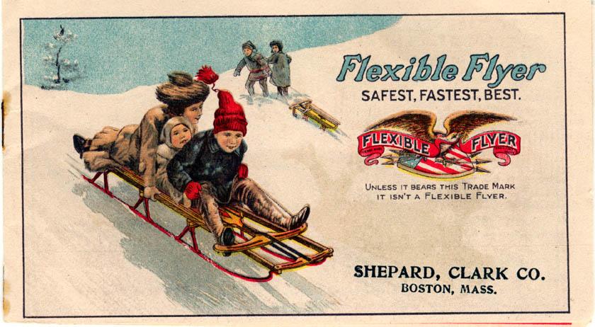 1954 Flexible Flyer Sled Garys Restorations
