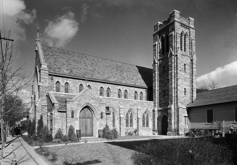 St. Matthew's Church in 1932