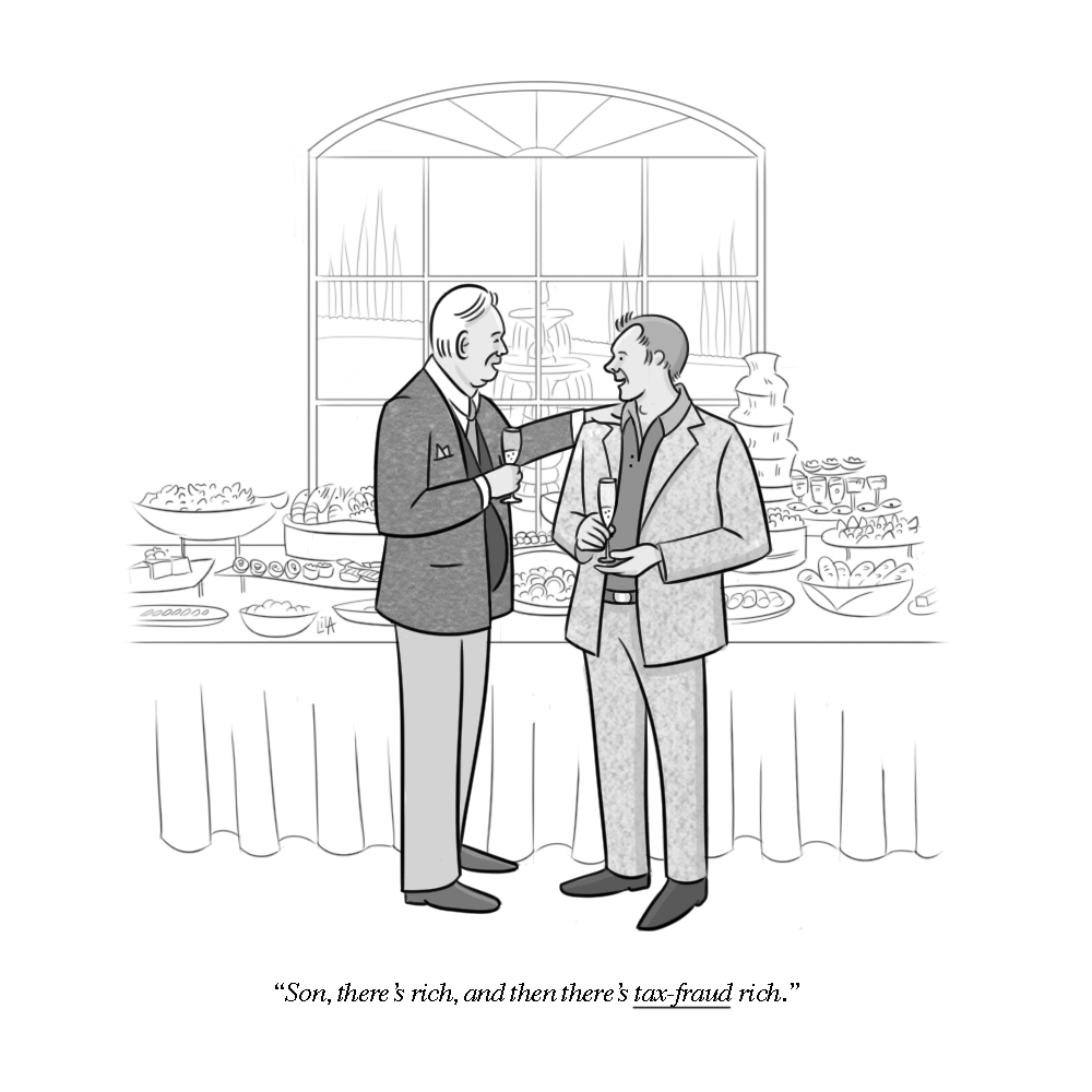 As seen on the New Yorker's Daily Cartoon website
