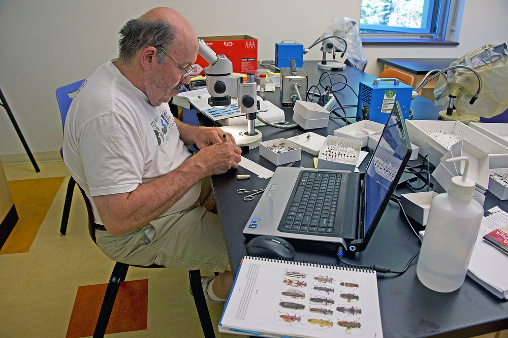Scientist Working at a Bio Blitz in Acadia National Park ©FitzPatrick_014 copy.jpg