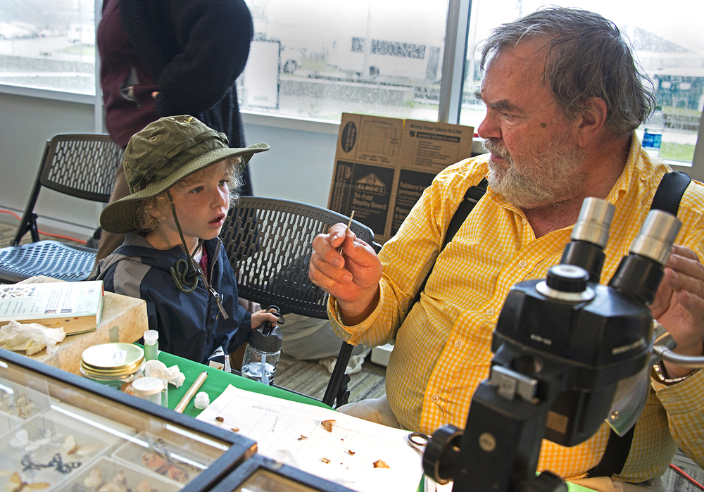 My grandson with a Smithsonian scientist at the Golden gate national Park.jpg