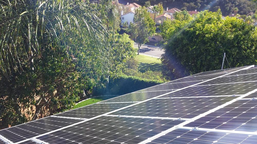 Residential Grid-tie Solar Electric Installation - by Damian Gutierrez Sept 2014, San Diego, CA