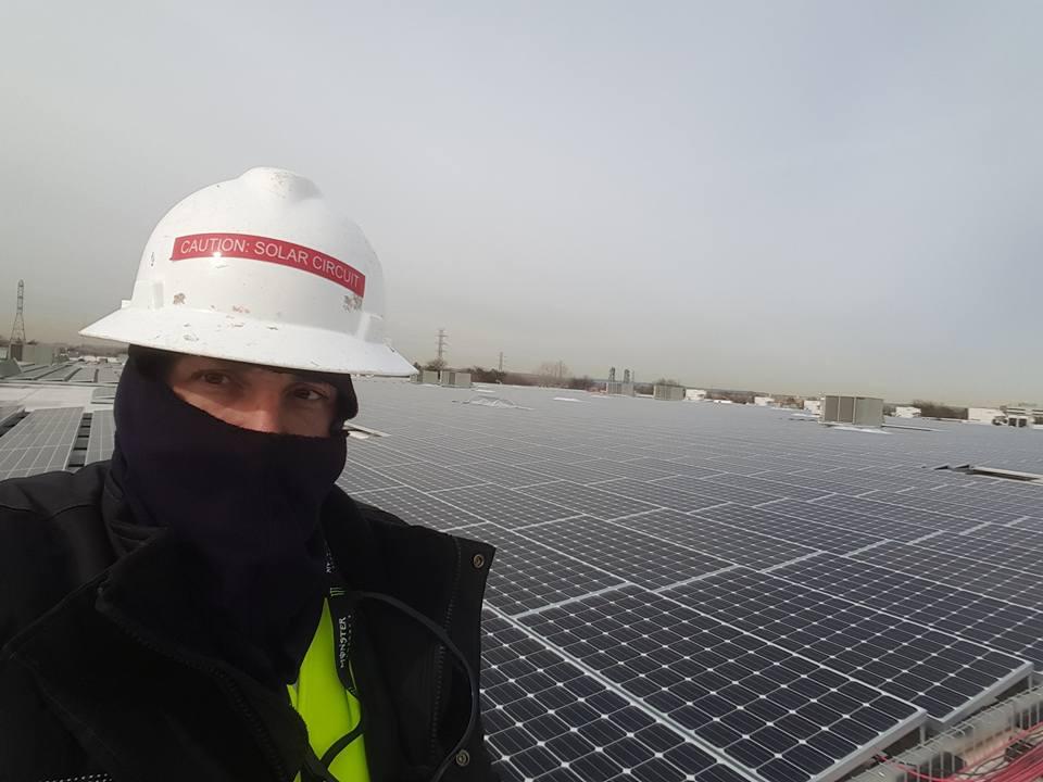 Solar Farm service and maintenance near Toronto, Canada