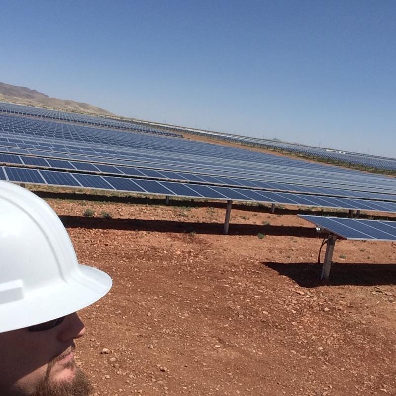 Copy of Ground Mount Solar Farm Near Wilcox, Arizona