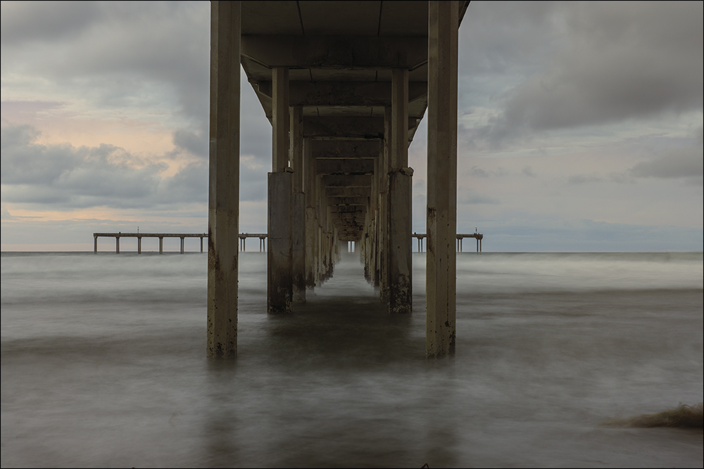 Under the OB Pier